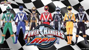 Power Rangers Racing Performance Machines WP