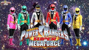 Power Rangers Super Megaforce WP