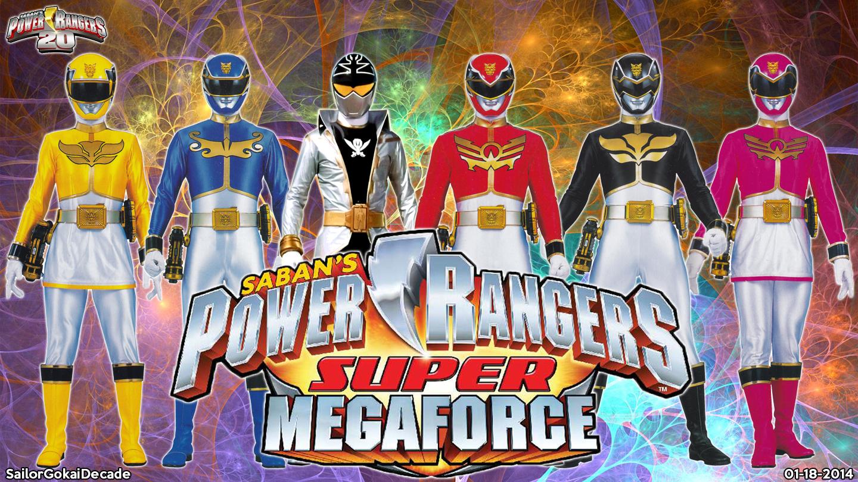 Power Rangers Super Megaforce WP by jm511 on DeviantArt