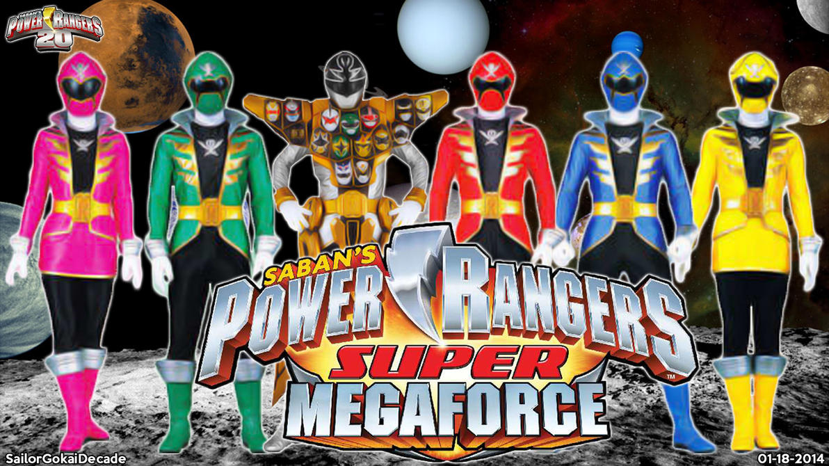 Power Rangers Super Megaforce WP by jm511 on DeviantArt
