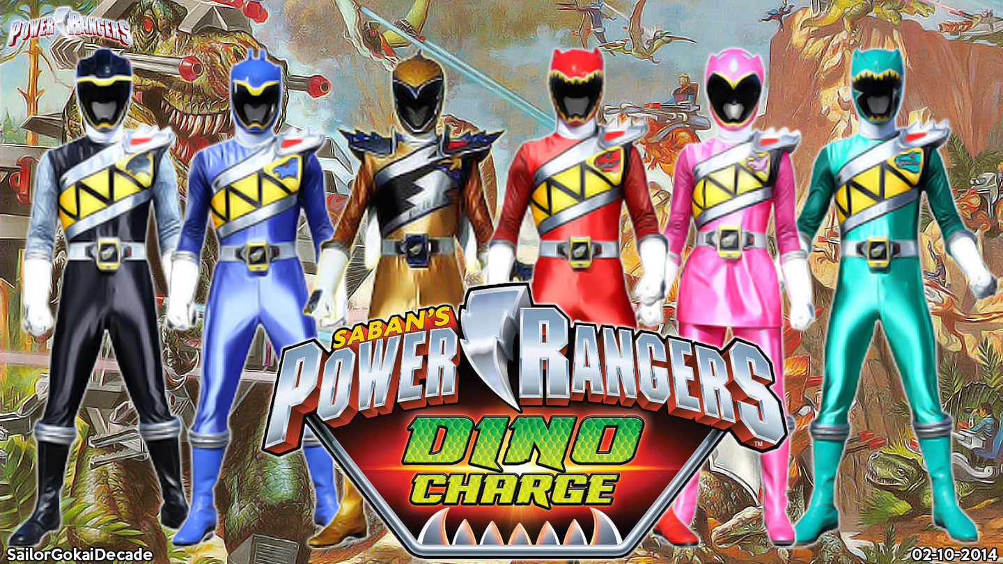 Power Rangers Dino Charge WP by jm511