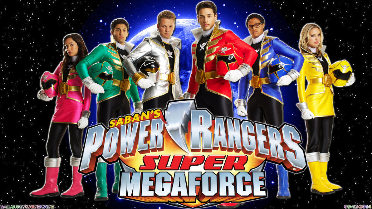 Saban's power rangers super megaforce ❤ 4k hd desktop wallpaper.