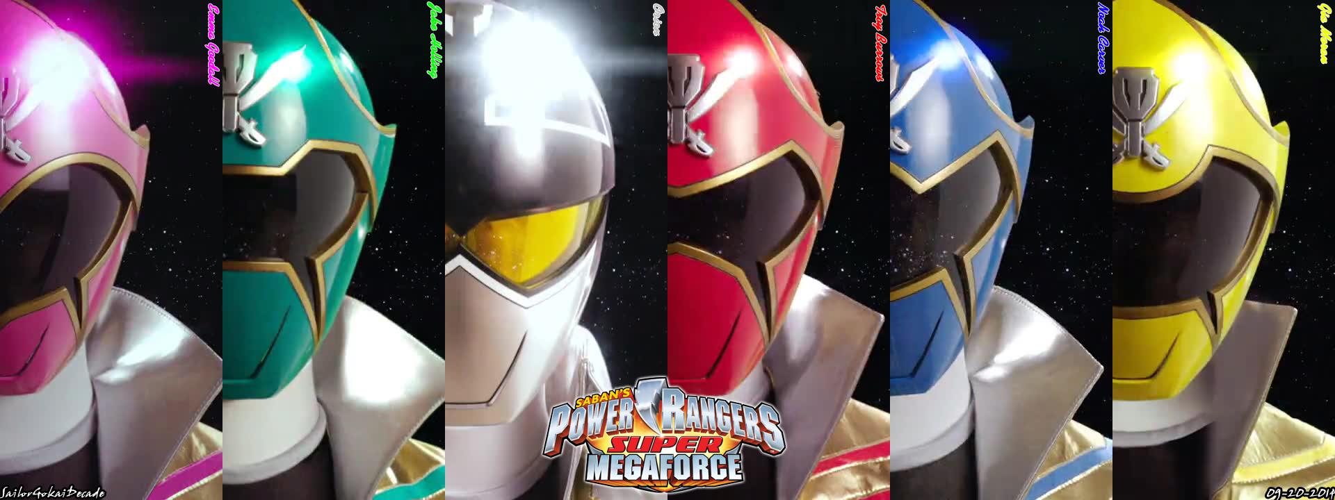 Power Rangers Super Megaforce Facebook Cover 3 By Jm511 On Deviantart
