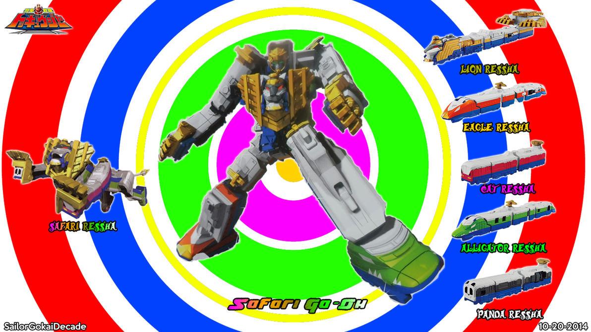 Ressha Sentai Tokkyuuger Safari Ga-Oh by jm511