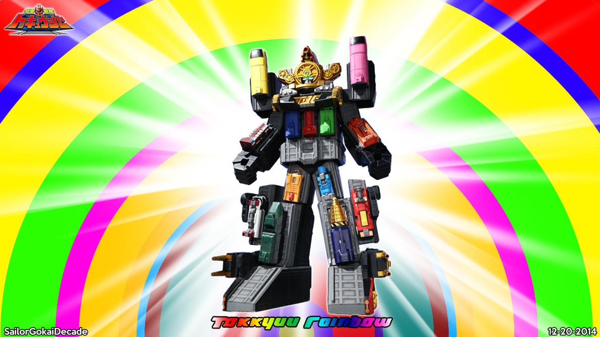 Ressha Sentai Tokkyuuger Tokkyuu Rainbow by jm511