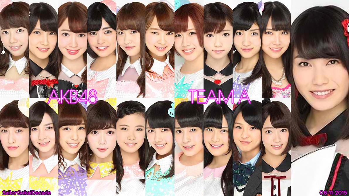 AKB48 Team A (June 2015) by jm511
