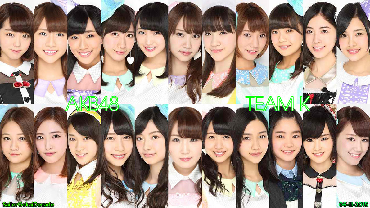 AKB48 Team K (June 2015) by jm511