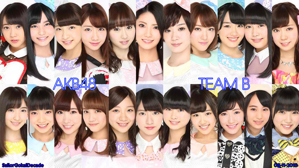 AKB48 Team B (June 2015) by jm511