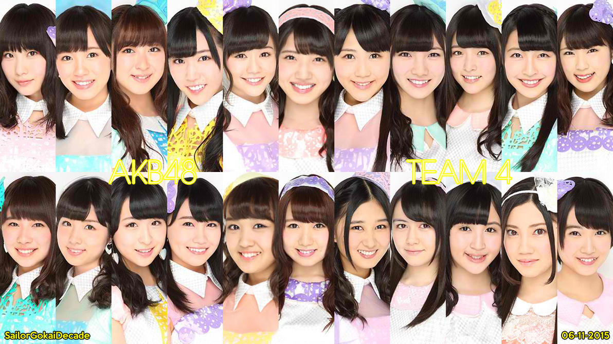 AKB48 Team 4 (June 2015) by jm511