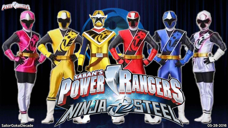 Power Rangers Nija Steel Free Coloring Pages