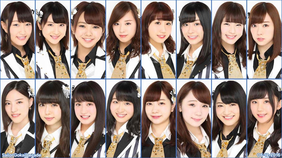NMB48 Team BII (June 2016) by jm511