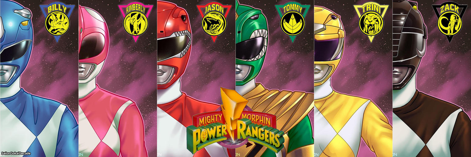 mighty moprhin' power rangers fan artjm511 on deviantart