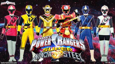 Power Rangers Super Ninja Steel WP by jm511
