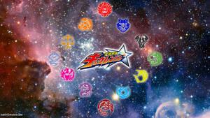 Uchuu Sentai Kyuranger Kyutama Logo Wallpaper