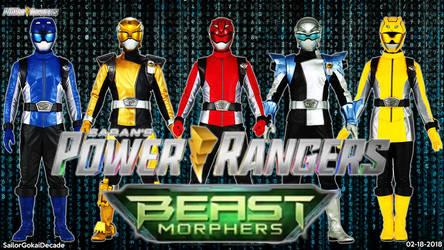 Power Rangers Beast Morphers Wallpaper by jm511