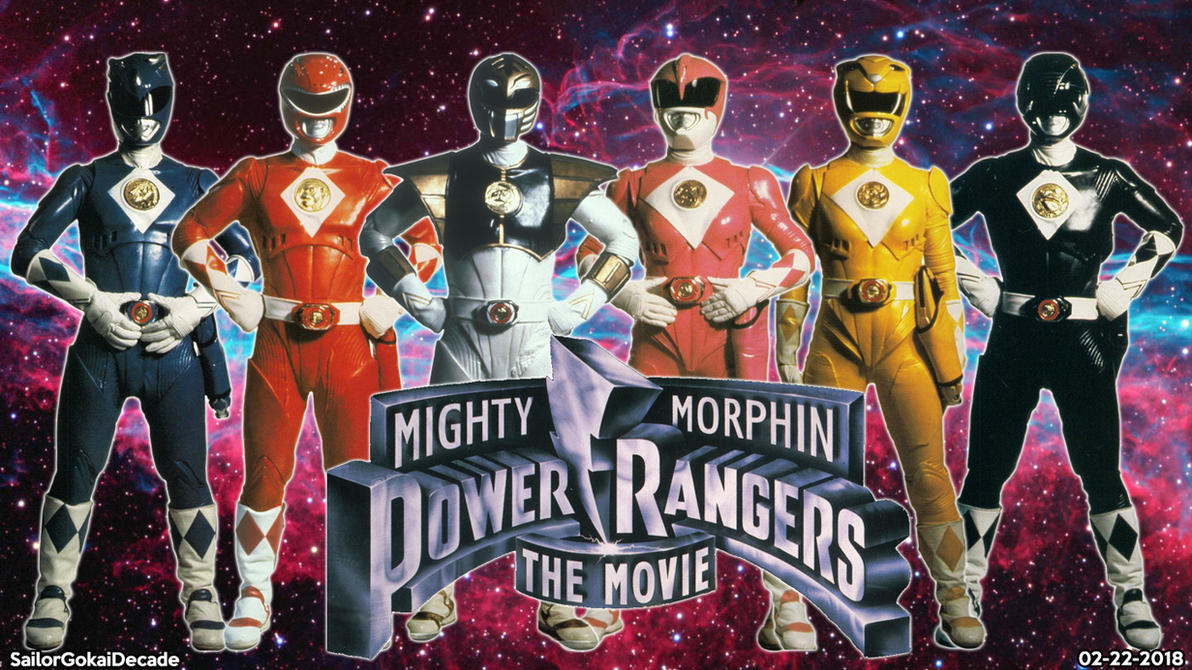 Mighty Morphin' Power Rangers The Movie WP by jm511