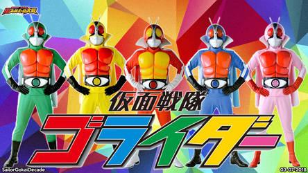 Kamen Sentai GoRider WP by jm511