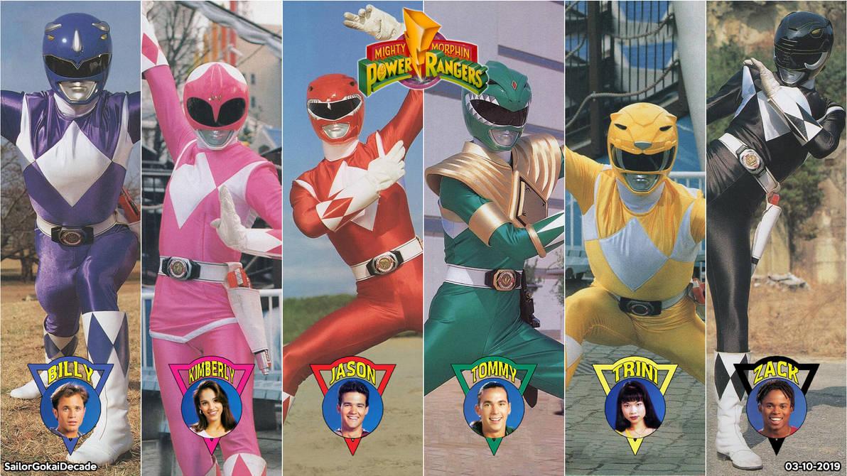 Mighty Morphin' Power Rangers Wallpaper by jm511