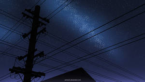 Neighborhood (Night) by AmineCH