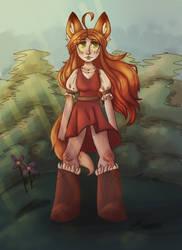Fox Girl - Redraw