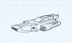 Perspective Study - Space Car