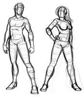 Anatomy Sketch by Sawuinhaff