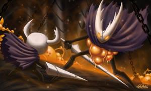 Hollow Knight Vs Hollow Knight by Sawuinhaff