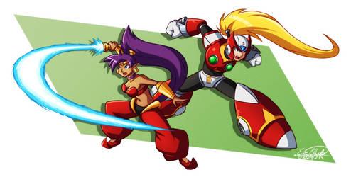 Request - Shantae and Zero