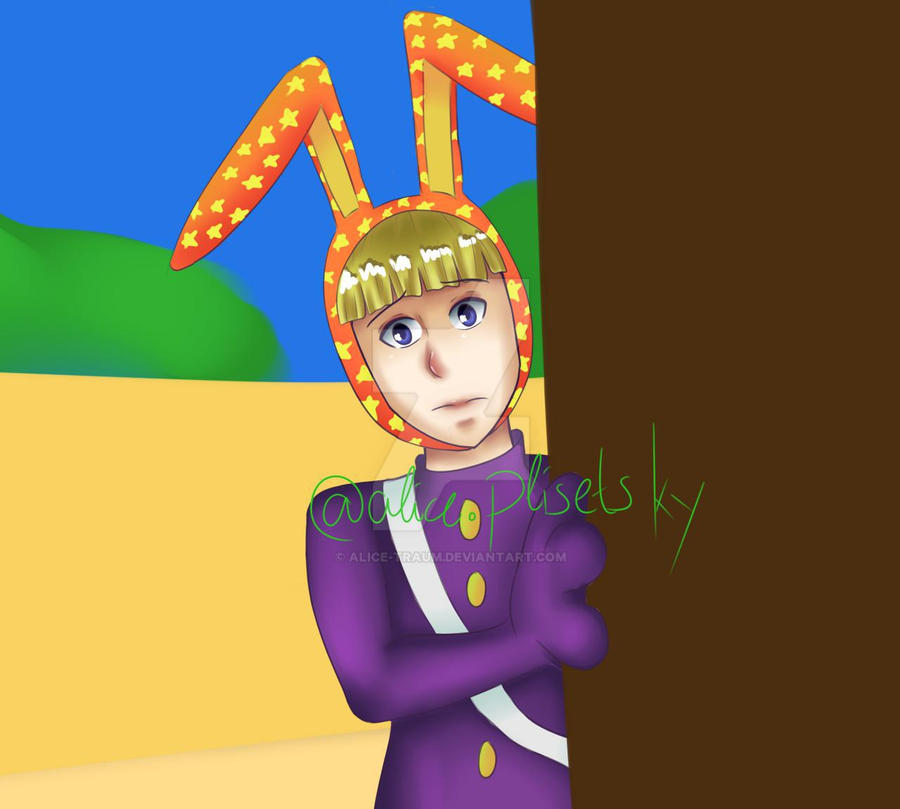 Eepop from Popee the Performer by Alice-traum