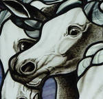 Horses detail by indeestudios