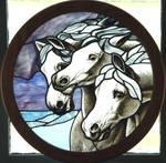 horses frame by indeestudios