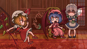 Another night at the Scarlet Devil Mansion