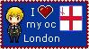 London pixel stamp by wilkolak66