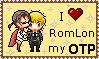 RomLon pixel kiss by wilkolak66