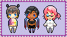 Group pixel stamp commission 1 by wilkolak66