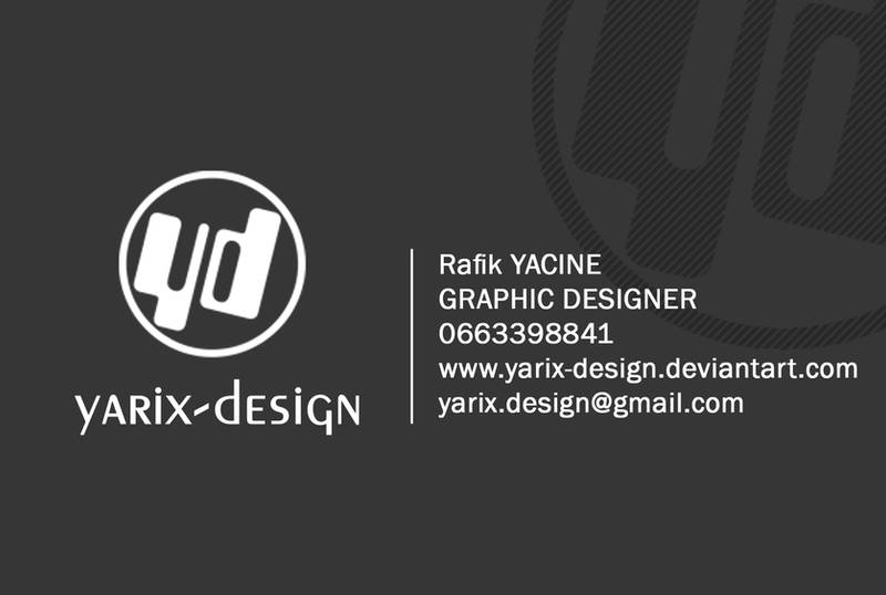 Ma Carte De Visite 02 By Yarix Design