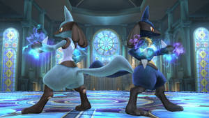 Super Smash Bros: Lucario (Light/Dark Blue Alts)