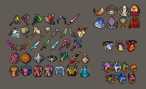 AoF Equipment and Items