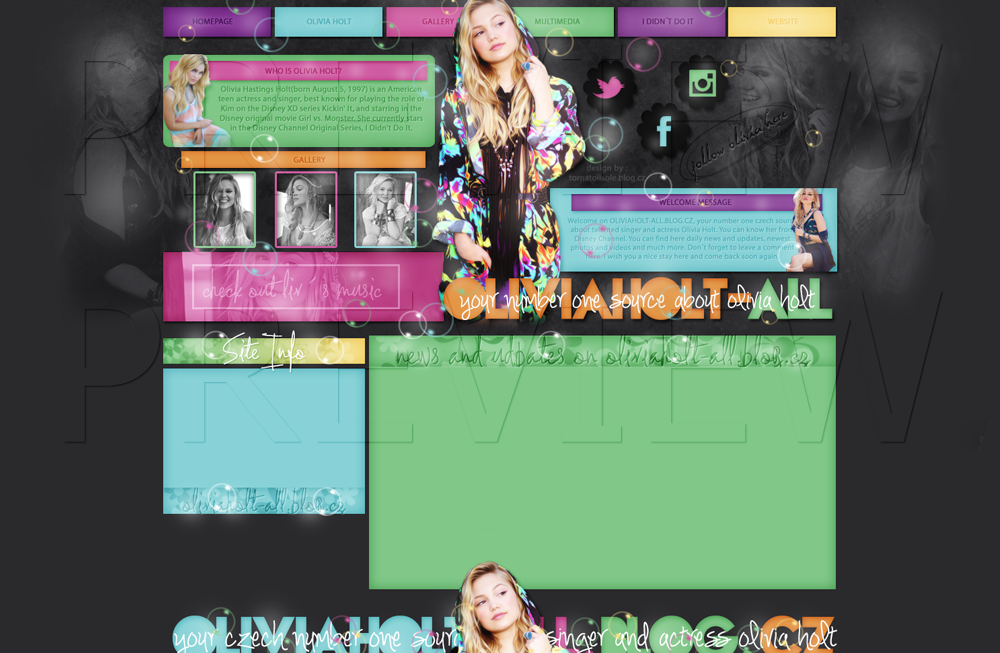 Ordered design ft. Olivia Holt by Helcabu