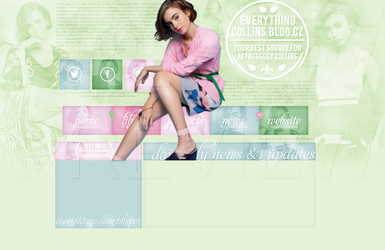 Ordered ft. Lily Collins by Helcabu