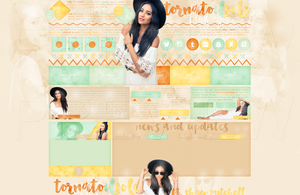 Design for my site ft. Shay Mitchell by Helcabu