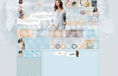 Design for my site ft. Lais Ribeiro by Helcabu