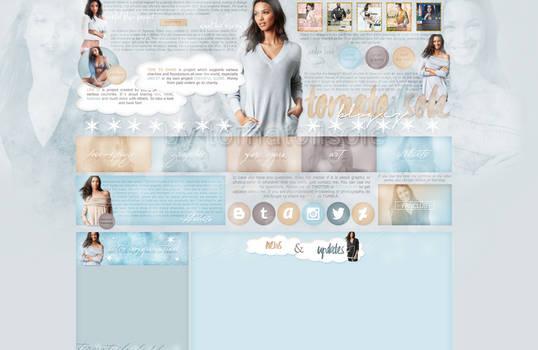 Design for my site ft. Lais Ribeiro