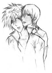 Noah and Edgar by kerai-sarusuki