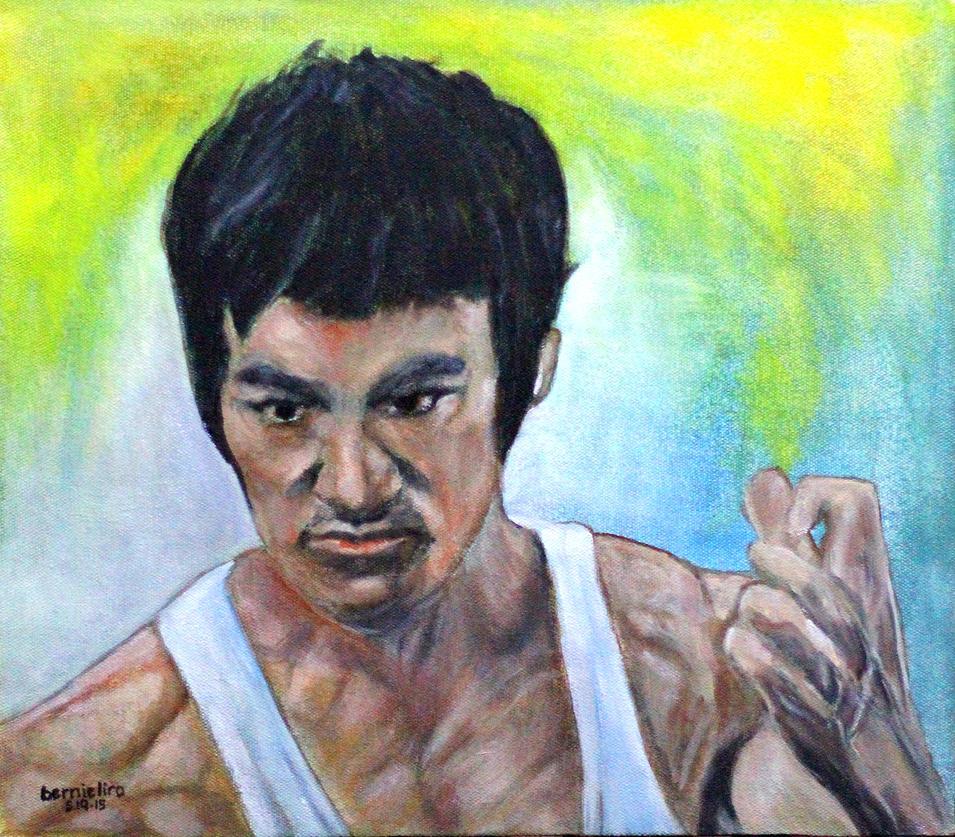 Bruce Lee by ferrari2006extreme