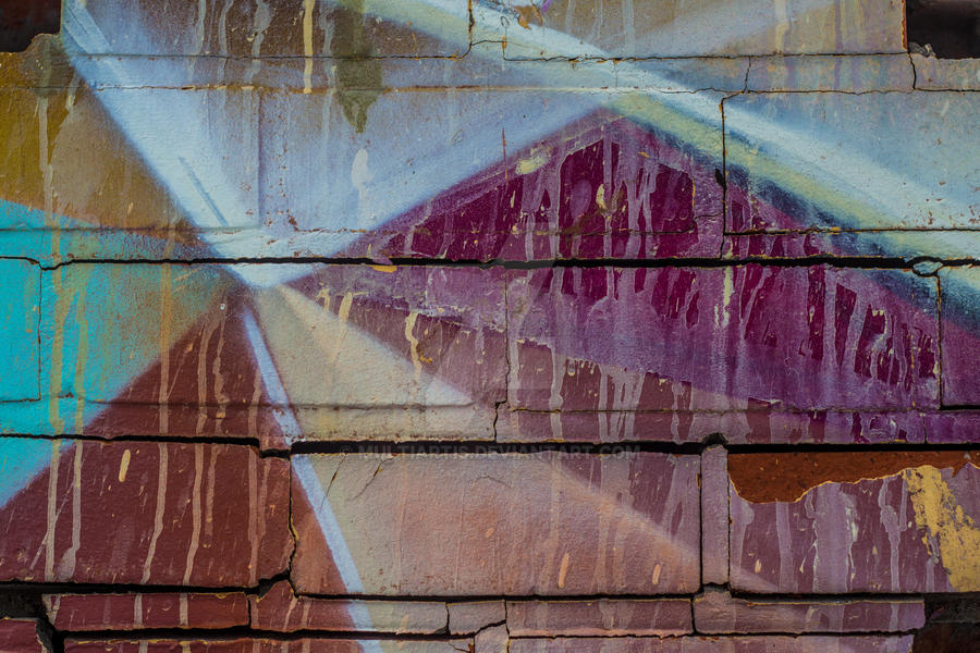Broken wall abstraction by Multiartis