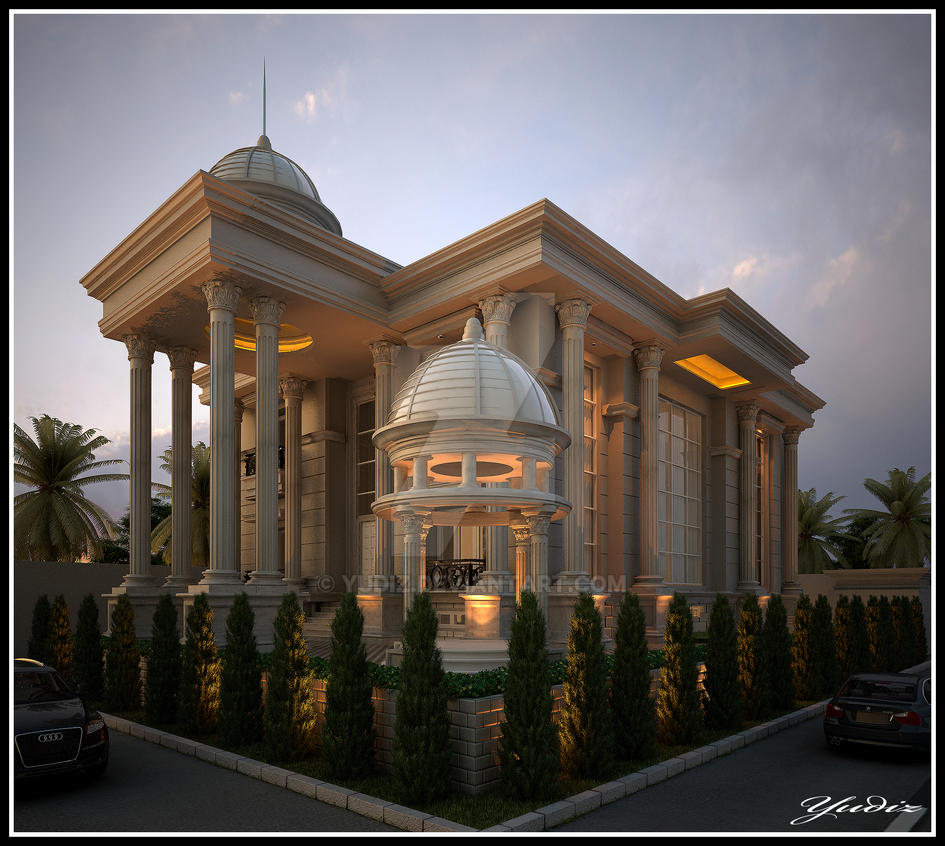 House classic 1 jakarta by yudiz on deviantart for Classic home exteriors