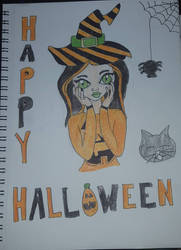 Happy Halloween  by crazykat22