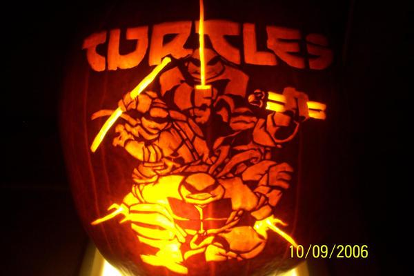 Ninja Turtles Pumpkin by azolina3 on DeviantArt