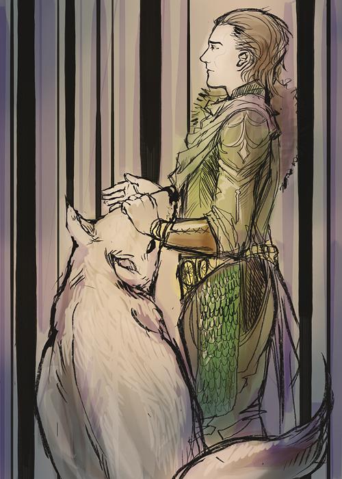 sweet asgardian princess by Amokery
